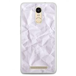 Etui na telefon Xiaomi Redmi Note 3 - pomięty papier