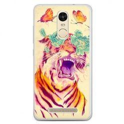 Etui na telefon Xiaomi Redmi Note 3 - egzotyczny tygrys