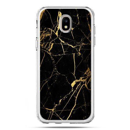 Etui na telefon Galaxy J5 2017 - złoty marmur