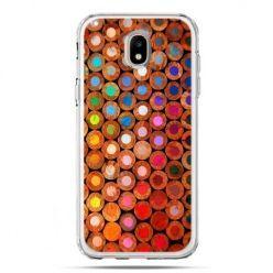 Etui na telefon Galaxy J5 2017 - kolorowe kredki