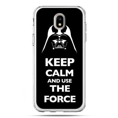 Etui na telefon Galaxy J5 2017 - Keep calm and use the force