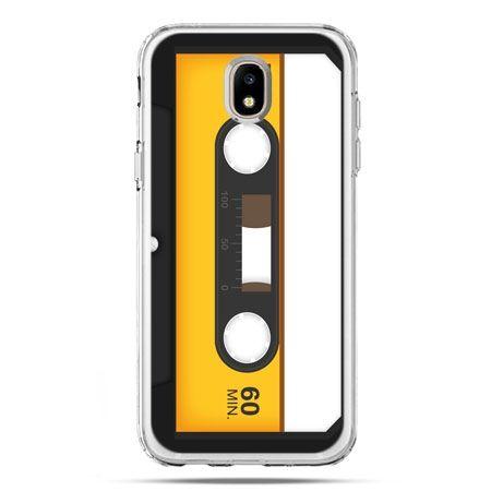 Etui na telefon Galaxy J5 2017 - kaseta magnetofonowa