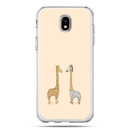 Etui na telefon Galaxy J5 2017 - żyrafy