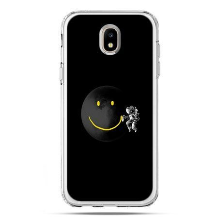 Etui na telefon Galaxy J5 2017 - uśmiechnięta planeta
