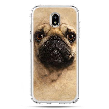 Etui na telefon Galaxy J5 2017 - pies szczeniak Face 3d