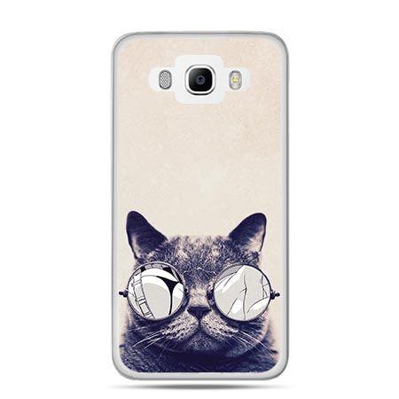 Etui na Galaxy J5 (2016r) kot w okularach - PROMOCJA !