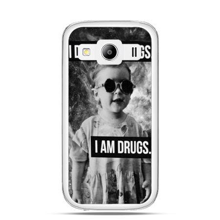 Galaxy  S3  etui I don`t do drugs I am drugs - PROMOCJA !