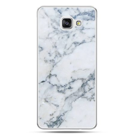 Galaxy A7 (2016) A710, etui na telefon biały marmur - PROMOCJA !