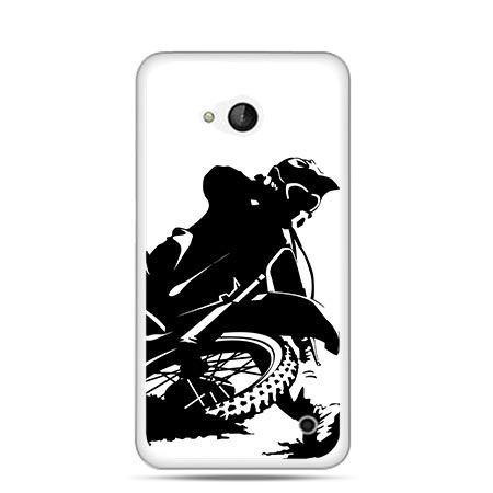 Etui na telefon Nokia Lumia 550 motocykl cross - PROMOCJA !