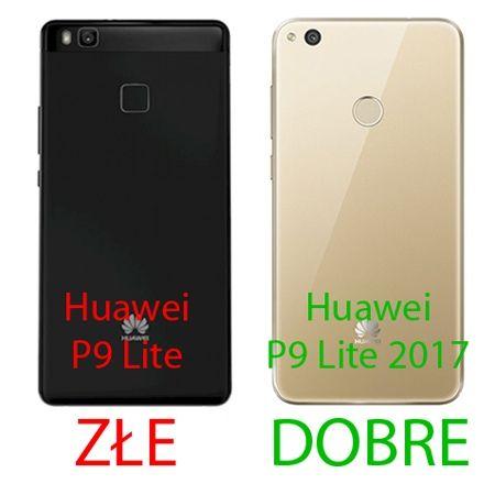 Etui na Huawei P9 Lite 2017 mirror - lustro silikonowe lustrzane TPU - Rose Gold.