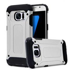Pancerne etui na Galaxy S7 - srebrny.