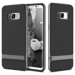 Etui na telefon Galaxy S8 Plus Bumper Rock Royce - Grafitowy.