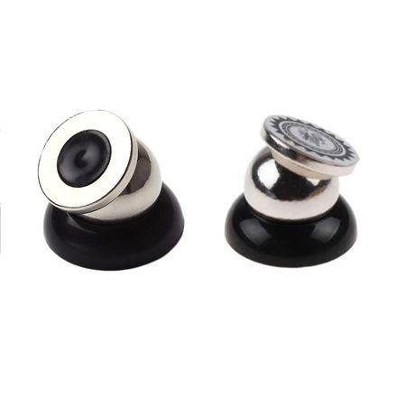 Uniwersalny magnetyczny uchwyt  samochodowy na telefon - KULKA - Czarny.