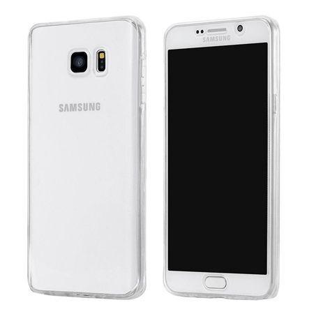 Etui na Galaxy S7 silikonowe 360 Full przód i tył - przezroczyste.