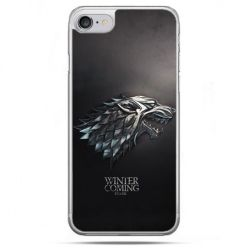Etui na telefon iPhone 8 - Gra o Tron Stark Winter is coming