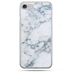 Etui na telefon iPhone 8 - biały marmur
