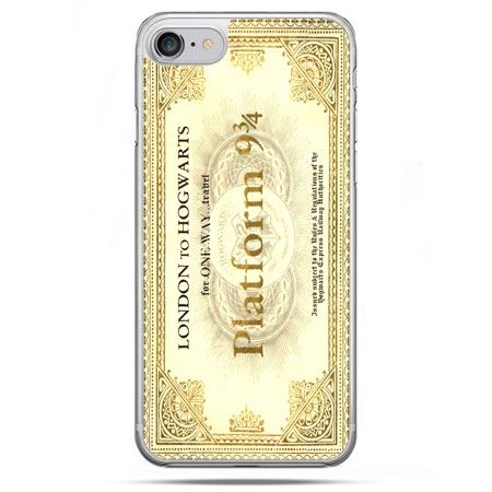 Etui na telefon iPhone 8 - bilet platform 9 3/4 Harry Potter