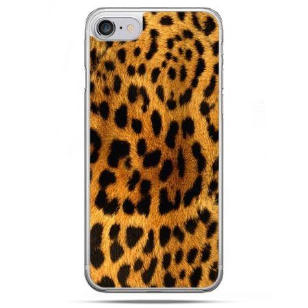 Etui na telefon iPhone 8 - skóra lamparta