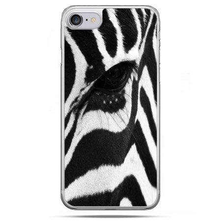 Etui na telefon iPhone 8 - zebra
