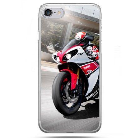 Etui na telefon iPhone 8 - motocykl ścigacz