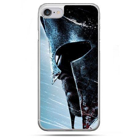 Etui na telefon iPhone 8 - hełm Spartan