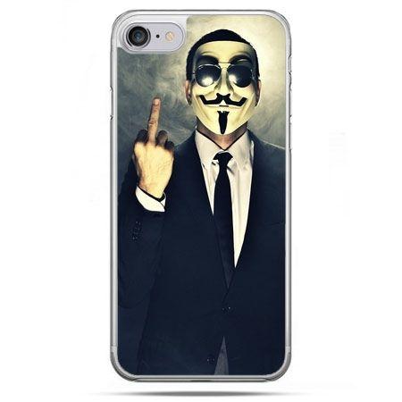 Etui na telefon iPhone 8 - Anonimus Fuck You