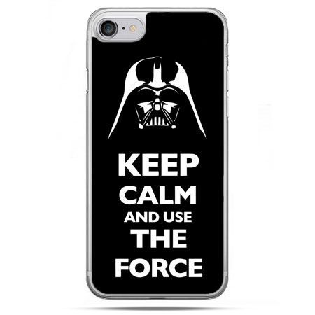 Etui na telefon iPhone 8 - Keep calm and use the force