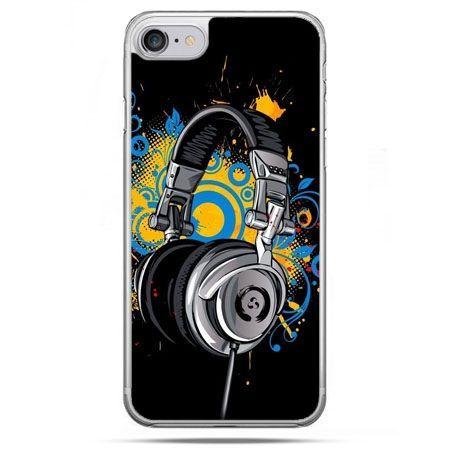 Etui na telefon iPhone 8 - słuchawki