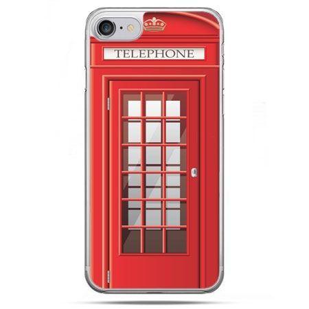 Etui na telefon iPhone 8 - budka telefoniczna