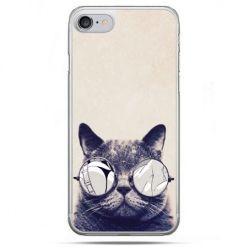 Etui na telefon iPhone 8 - kot w okularach