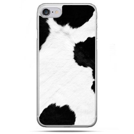 Etui na telefon iPhone 8 - łaciata krowa