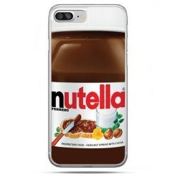 Etui na telefon iPhone 8 Plus - Nutella czekolada słoik