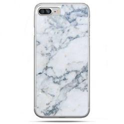 Etui na telefon iPhone 8 Plus - biały marmur