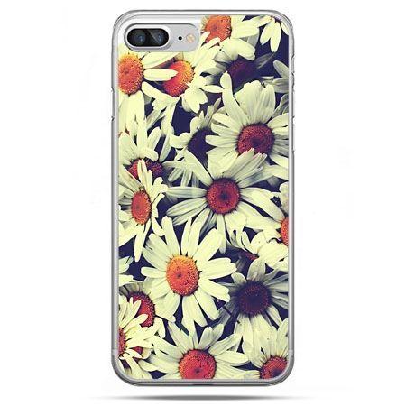 Etui na telefon iPhone 8 Plus - stokrotki