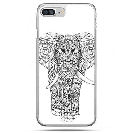 Etui na telefon iPhone 8 Plus - Indyjski słoń