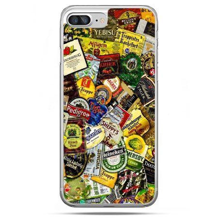 Etui na telefon iPhone 8 Plus - etykiety