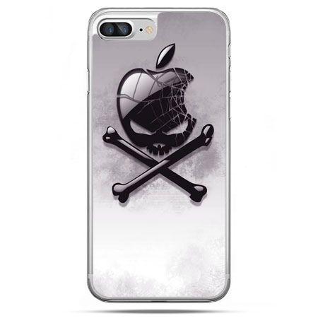 Etui na telefon iPhone 8 Plus - logo Apple czacha