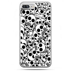 Etui na telefon iPhone 8 Plus - czaszki