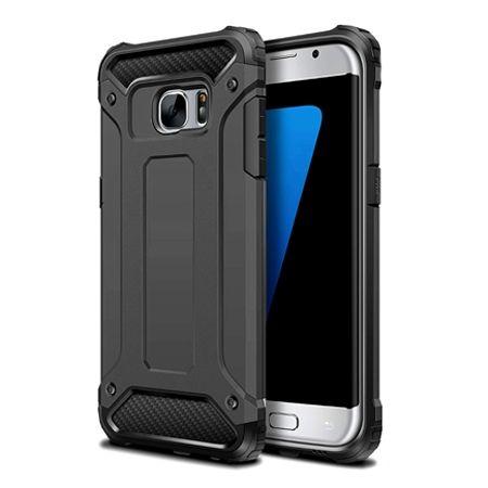 Pancerne etui na Samsung Galaxy S6 - Czarny
