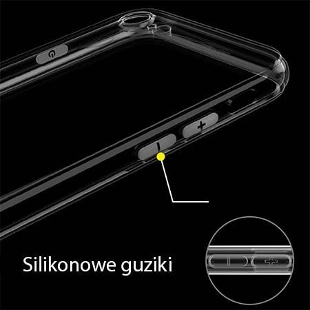 Etui na iPhone 8 silikonowe crystal case - bezbarwne.