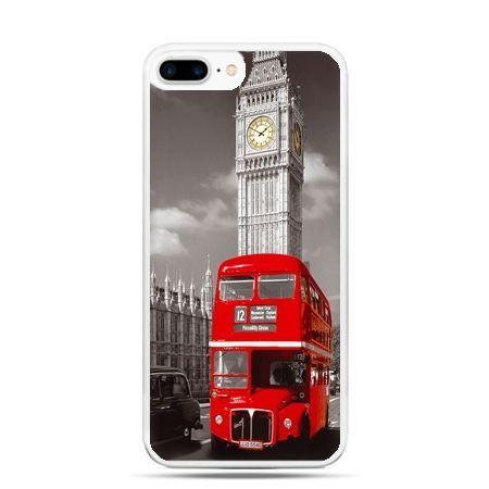Etui na telefon iPhone 7 Plus - czerwony autobus londyn - Promocja !!!