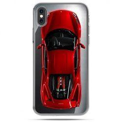 Etui na telefon iPhone X - czerwone Ferrari