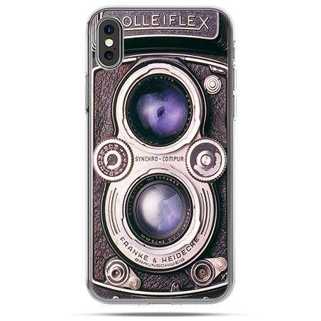 Etui na telefon iPhone X - aparat Rolleiflex