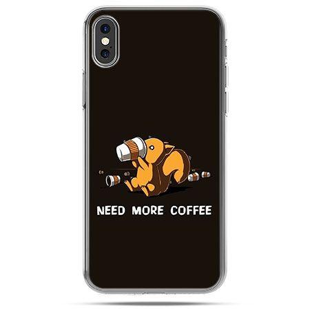 Etui na telefon iPhone X - Kawa Need more
