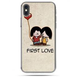 Etui na telefon iPhone X - First Love