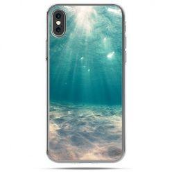 Etui na telefon iPhone X - pod wodą