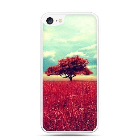 Etui na telefon iPhone 7 - czerwone drzewo - Promocja !!!
