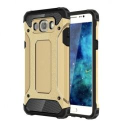 Pancerne etui na Samsung Galaxy J7 2016r - Złoty