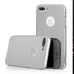 Mirror bumper case na iPhone 7 Plus - Srebrny