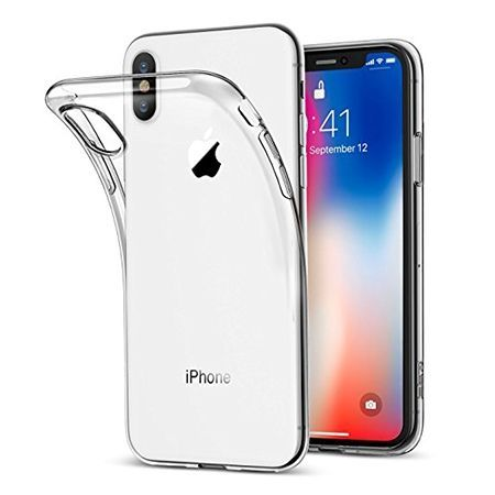 Etui na iPhone X silikonowe, przezroczyste crystal case.